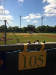 The view from Section 105 at NTB Stadium.
