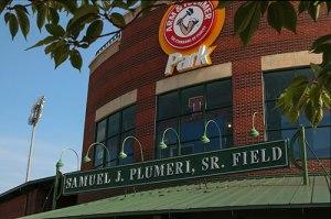 Arm & Hammer Park, home of the Trenton Thunder