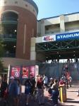 Entrance to NBT Bank Stadium.