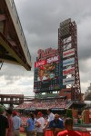 The scoreboard at CBP