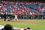 """Carlos """"Chooch"""" Ruiz at bat"""