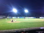 Under the lights at Bowman Field (which has AAA-caliber lights)